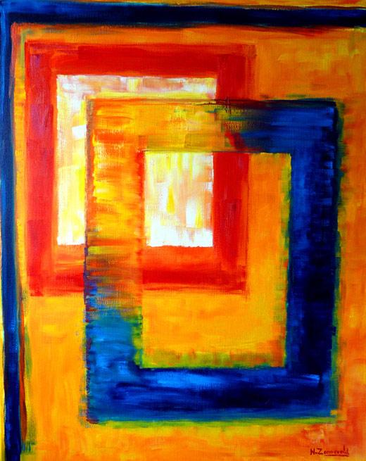 Kunstgalerie schilderijen hans van zonneveld moderne for Moderne schilderijen