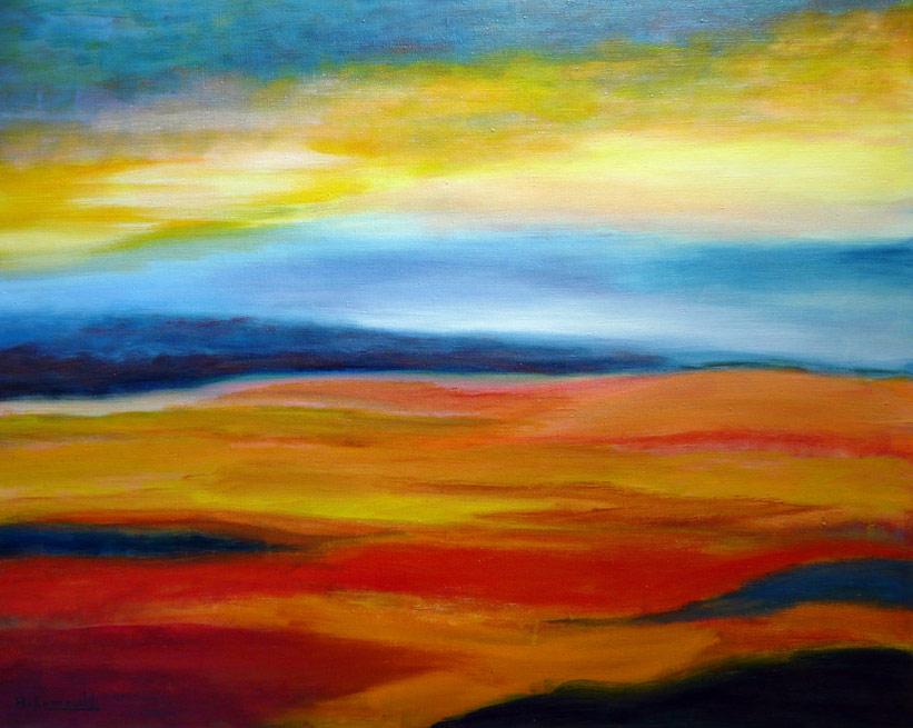 Contacteer hans van zonneveld moderne kunstschilder uit for Moderne schilderijen